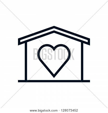 Home Sweet Home, Valentines Day House Icon