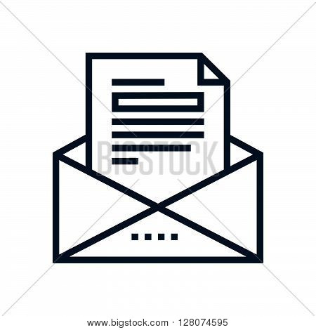 Business Mail Icon