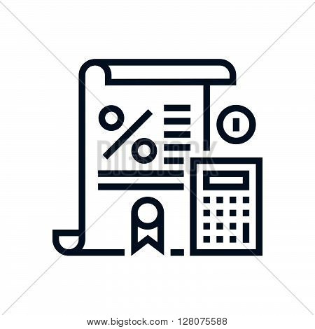 Tax Law Icon