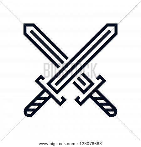 Crossing Swords Icon