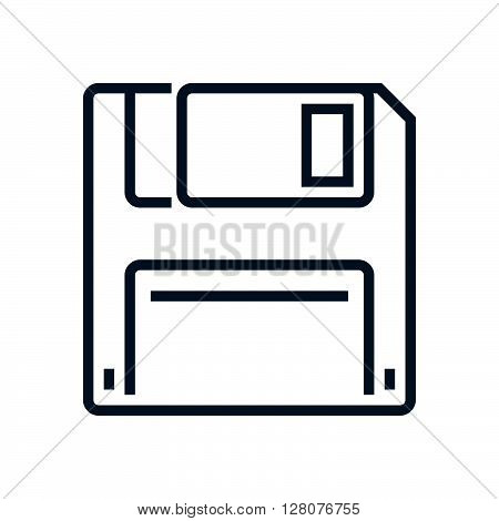 Floppy Diskette, Save Icon