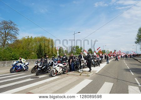 Protest Against Fusion Of Alsace Region With Lorraine And Champagne-ardenne
