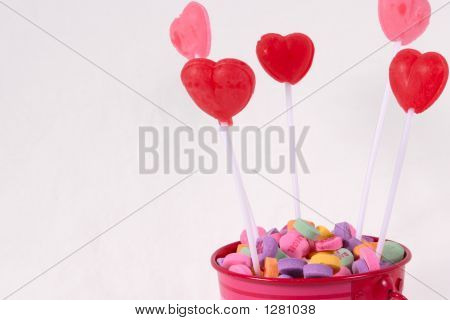 Valentine Candy Pink Bucket
