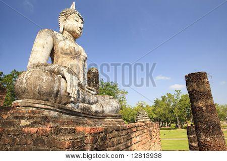 Sukhothai buddha in Sukhothai historical park