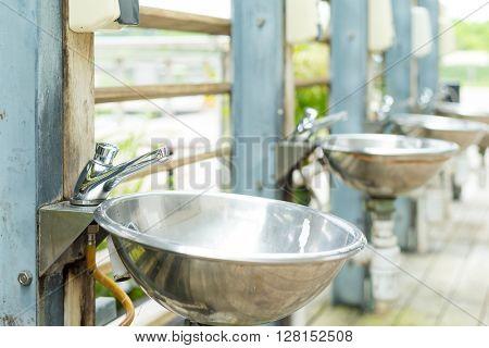 Lavatory basins  poster