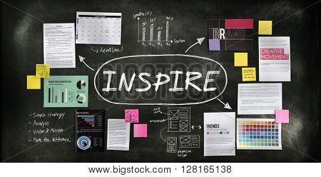 Inspire Influencing Motivation Goal Concept