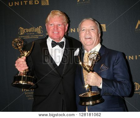 LOS ANGELES - APR 29:  Ken Corday at the 43rd Daytime Emmy Creative Awards at the Westin Bonaventure Hotel  on April 29, 2016 in Los Angeles, CA