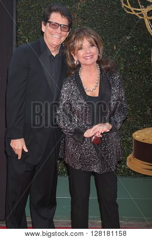 LOS ANGELES - APR 29:  Anson Williams, Dawn Wells at the 43rd Daytime Emmy Creative Awards Arrivals at the Westin Bonaventure Hotel  on April 29, 2016 in Los Angeles, CA