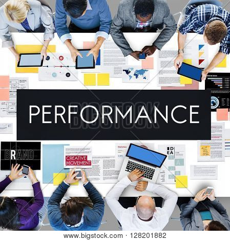 Performance Accomplishment Fulfillment Concept