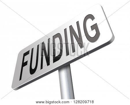 Funding for welfare collection fund raising for charity money donation for non profit organization.