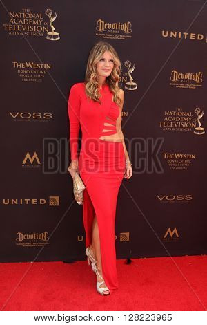 LOS ANGELES - MAY 1:  Michelle Stafford at the 43rd Daytime Emmy Awards at the Westin Bonaventure Hotel  on May 1, 2016 in Los Angeles, CA