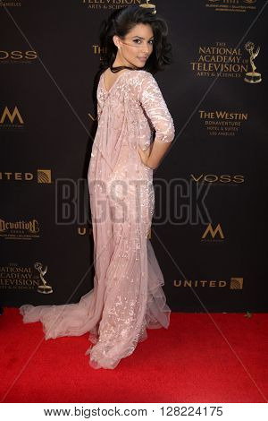 LOS ANGELES - MAY 1:  Camila Banus at the 43rd Daytime Emmy Awards at the Westin Bonaventure Hotel  on May 1, 2016 in Los Angeles, CA