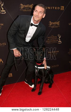 LOS ANGELES - MAY 1:  Brandon McMillan at the 43rd Daytime Emmy Awards at the Westin Bonaventure Hotel  on May 1, 2016 in Los Angeles, CA