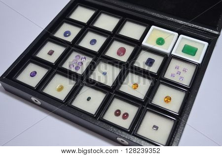Jewelry from gemstones elegantly beautiful natural levels.