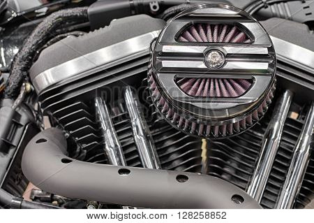 Detail Of Air Filter Of V-twin Engines