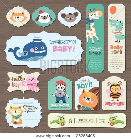 Baby Arrival and Shower Collection
