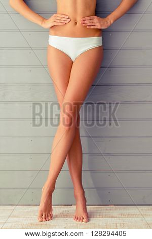 Attractive Girl In Underwear