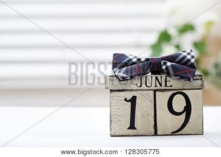 Father's Day Celebration Date Theme