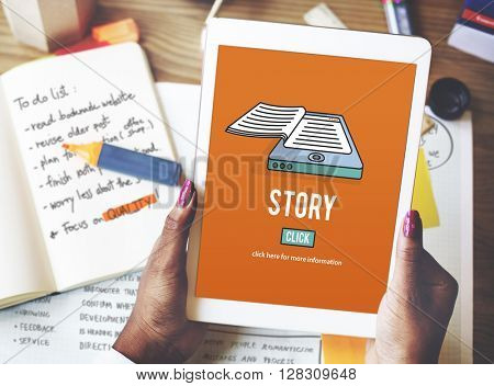 Story Drama Plot Poetry Fairytale Narrative Concept