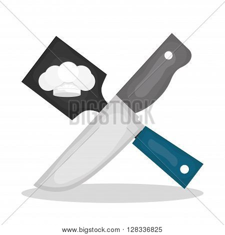 Chef concept with icon design, vector illustration 10 eps graphic.