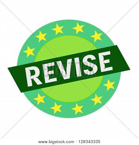 REVISE white wording on green Rectangle and Circle green stars