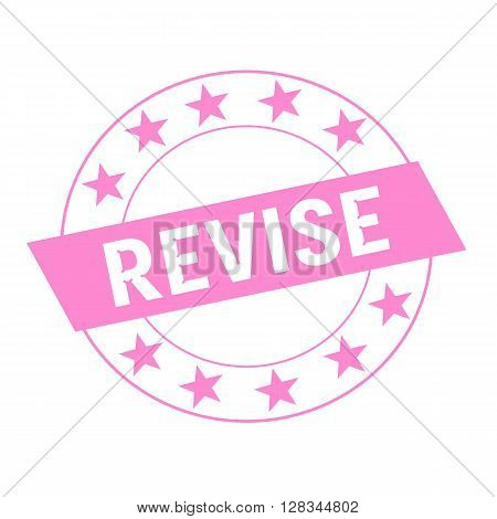 REVISE white wording on pink Rectangle and Circle pink stars