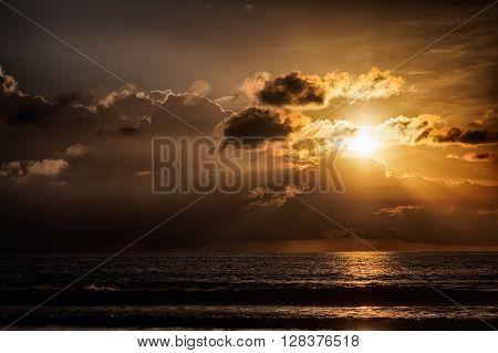 Beautiful Orange Sun Rise