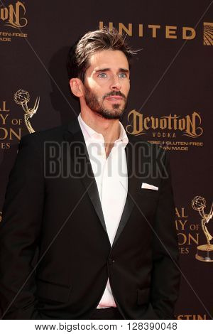 LOS ANGELES - MAY 1:  Brandon Beemer at the 43rd Daytime Emmy Awards at the Westin Bonaventure Hotel  on May 1, 2016 in Los Angeles, CA