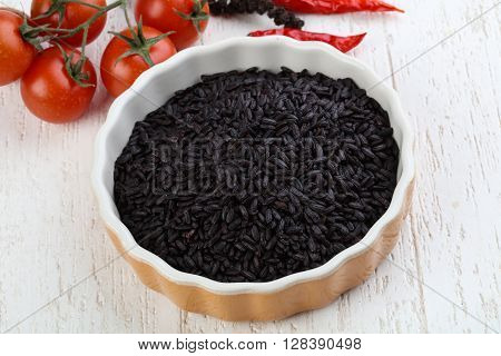 Raw Black Wild Rice