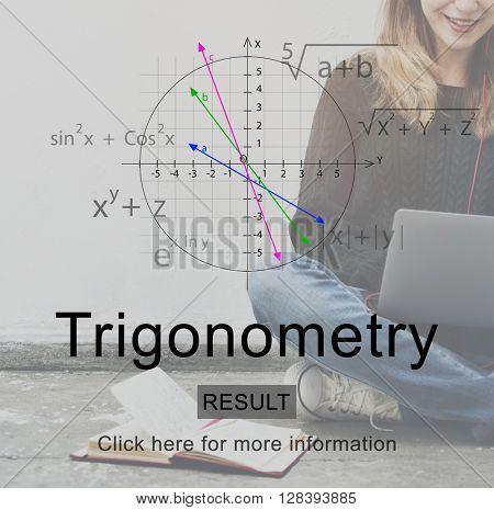 Trigonometry Education Studying Formula Concept
