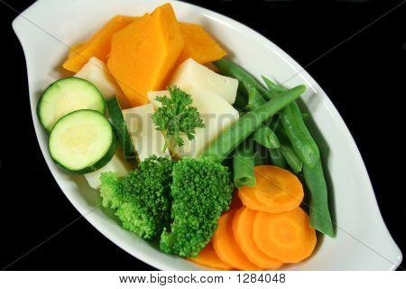 Fresh Steamed Vegetables