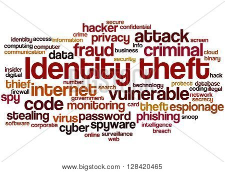 Identity Theft, Word Cloud Concept 3
