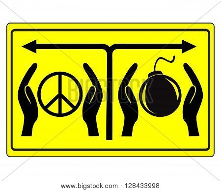 Peace or War. Appeasement or keep on fighting