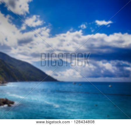 Coast And Sea View