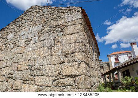 Belmonte chaple. Historic village of Portugal, near Covilha
