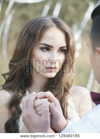 Sensual Wedding Couple