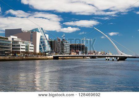 Dublin Ireland - April 18 2016: Dublin Ireland on April 18 2016
