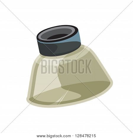 Loupe Technical Tool Magnification vector drawing illustration