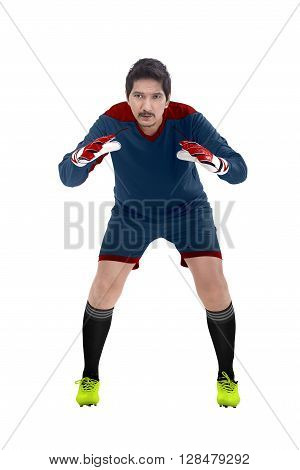 Image Of Football Goalkeeper