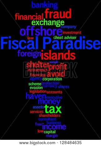 Fiscal Paradise, Word Cloud Concept 5