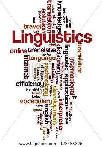 Linguistics, Word Cloud Concept 7