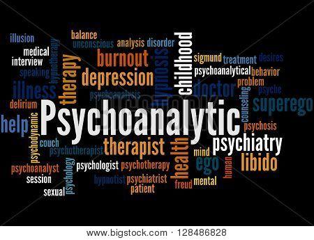 Psychoanalytic, Word Cloud Concept 3