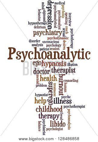 Psychoanalytic, Word Cloud Concept 6