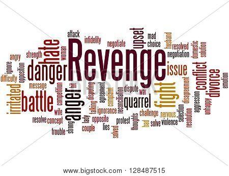 Revenge, Word Cloud Concept 2