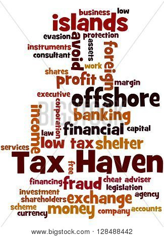 Tax Haven, Word Cloud Concept 2