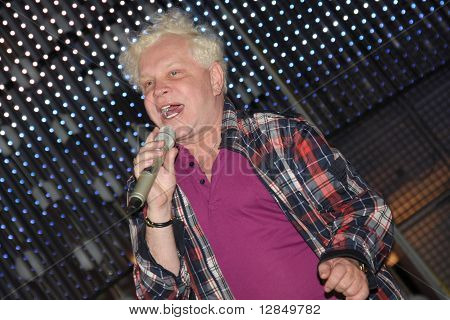 Russian pop star, singer Boris Moiseyev