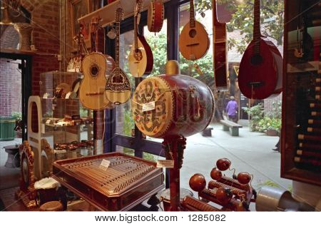 Musical Instrument Shop San Francicsco