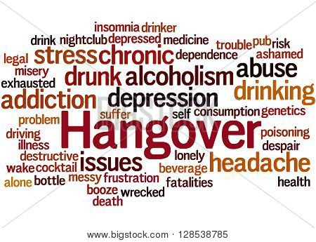 Hangover, Word Cloud Concept 3