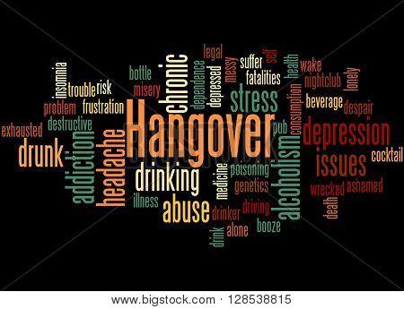 Hangover, Word Cloud Concept 5