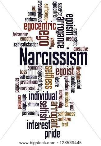 Narcissism, Word Cloud Concept 8